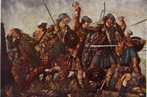 Celtic War Paint Patterns 'incident in the battle of